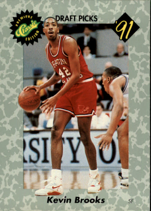 1991 Classic #12 Kevin Brooks