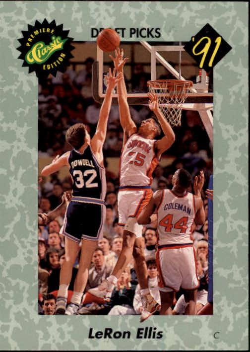1991 Classic #14 LeRon Ellis