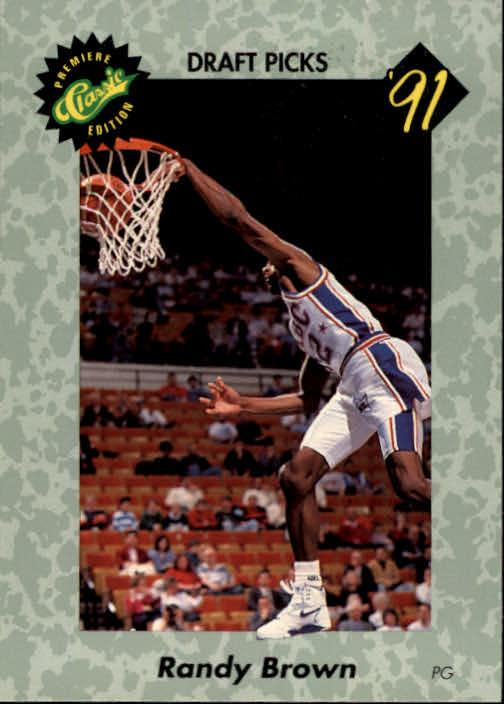 1991 Classic #21 Randy Brown