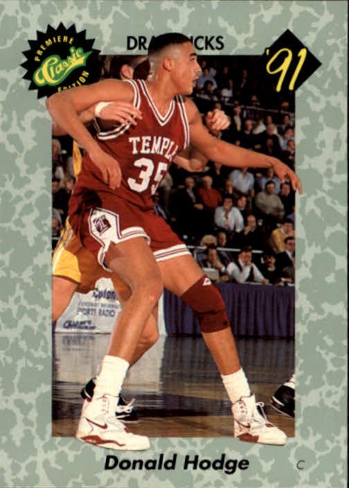1991 Classic #23 Donald Hodge