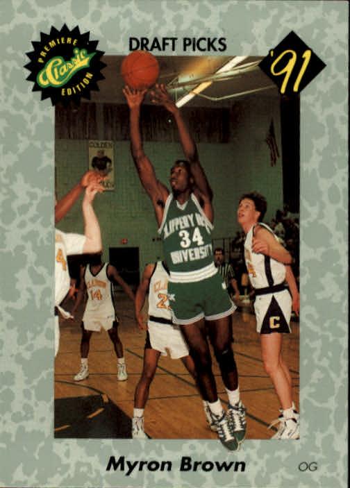 1991 Classic #24 Myron Brown