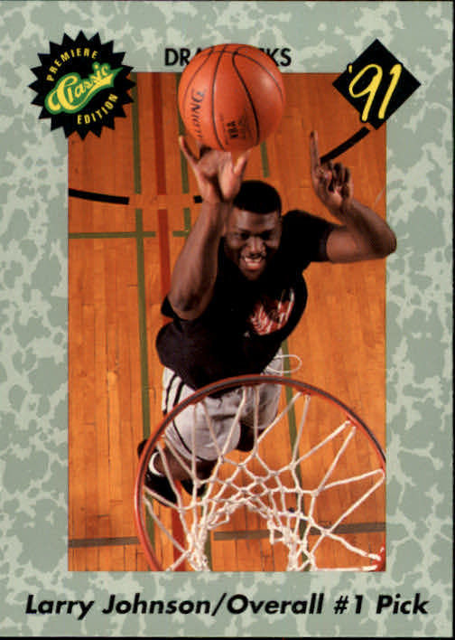 1991 Classic #44 L.Johnson Top Pick