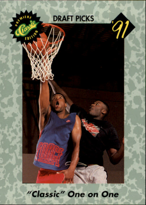 1991 Classic #45 Johnson vs. Owens