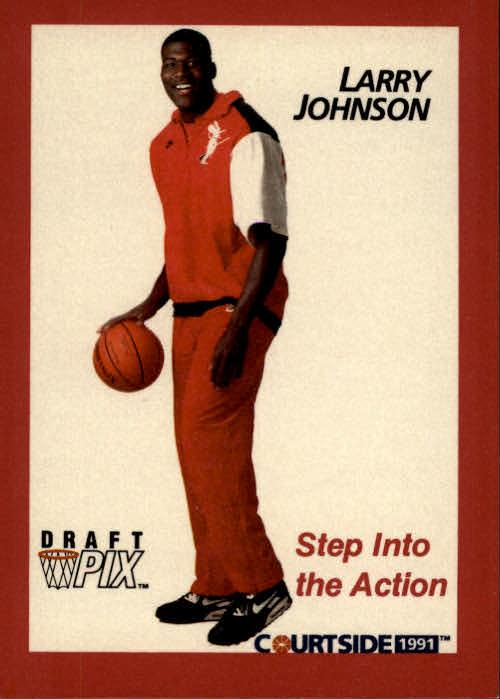 1991 Courtside #45 Larry Johnson POY
