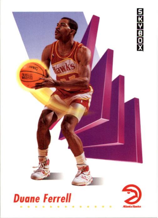 1991-92 SkyBox #2 Duane Ferrell