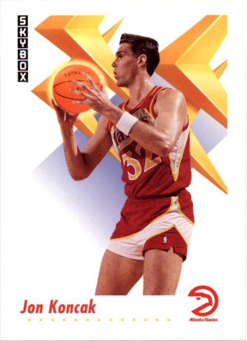 1991-92 SkyBox #3 Jon Koncak