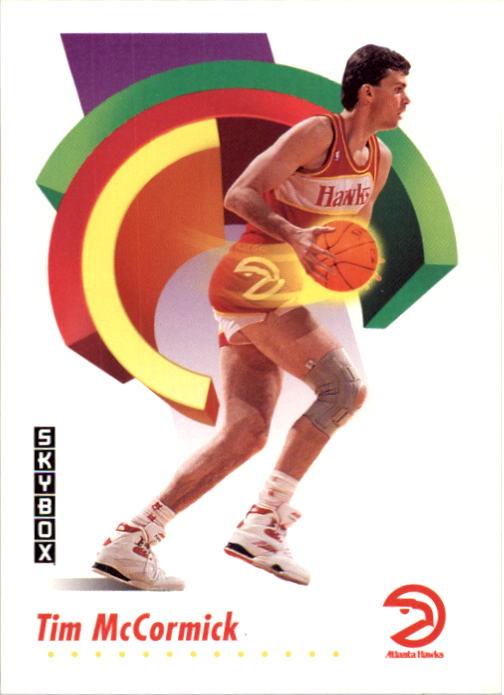 1991-92 SkyBox #5 Tim McCormick