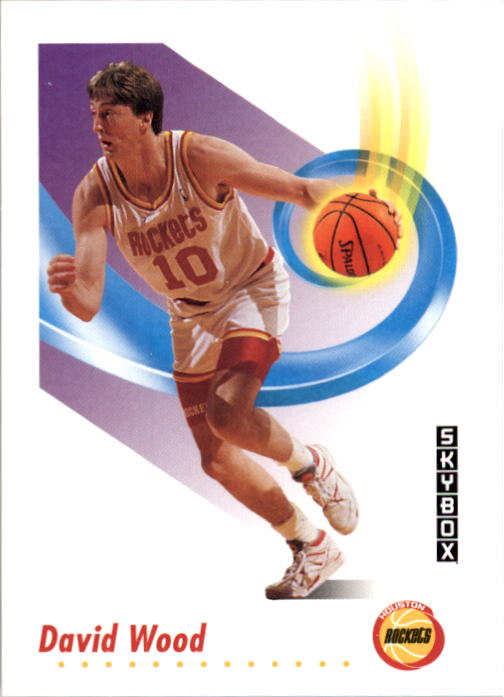 1991-92 SkyBox #110 David Wood RC