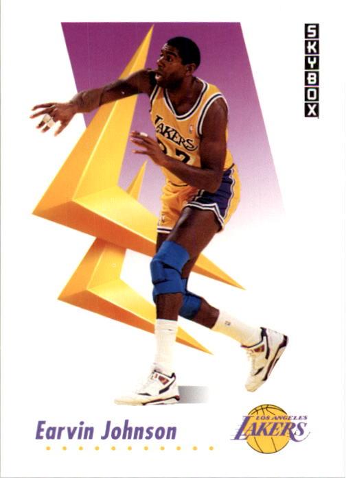 1991-92 SkyBox #137 Magic Johnson