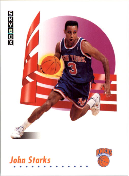 1991-92 SkyBox #194 John Starks RC