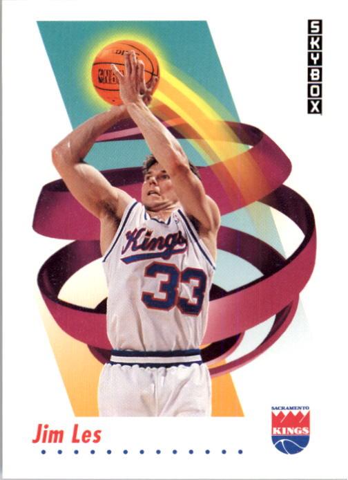 1991-92 SkyBox #247 Jim Les RC