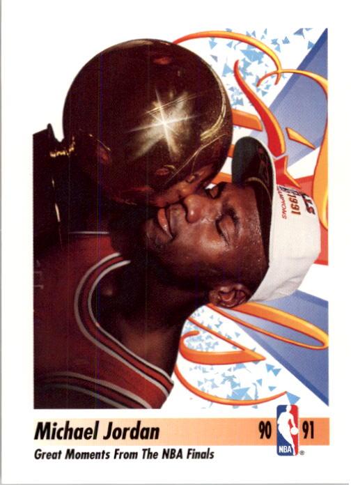 1991-92 SkyBox #334 Michael Jordan FIN
