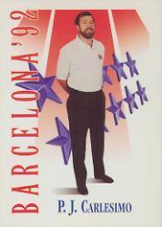1991-92 SkyBox #541 P.J.Carlesimo CO USA RC