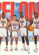 1991-92 SkyBox #545 Team USA 2