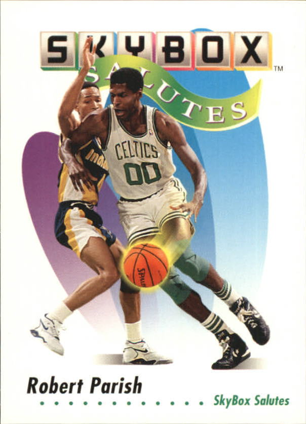 1991-92 SkyBox #575 Robert Parish SAL