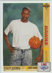 1991-92 Upper Deck #5 Stacey Augmon RC