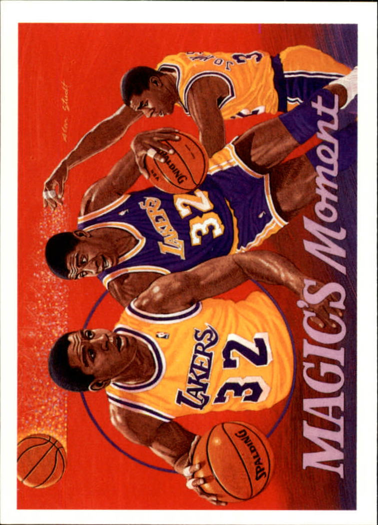 1991-92 Upper Deck #29 Magic Johnson/Assist Record