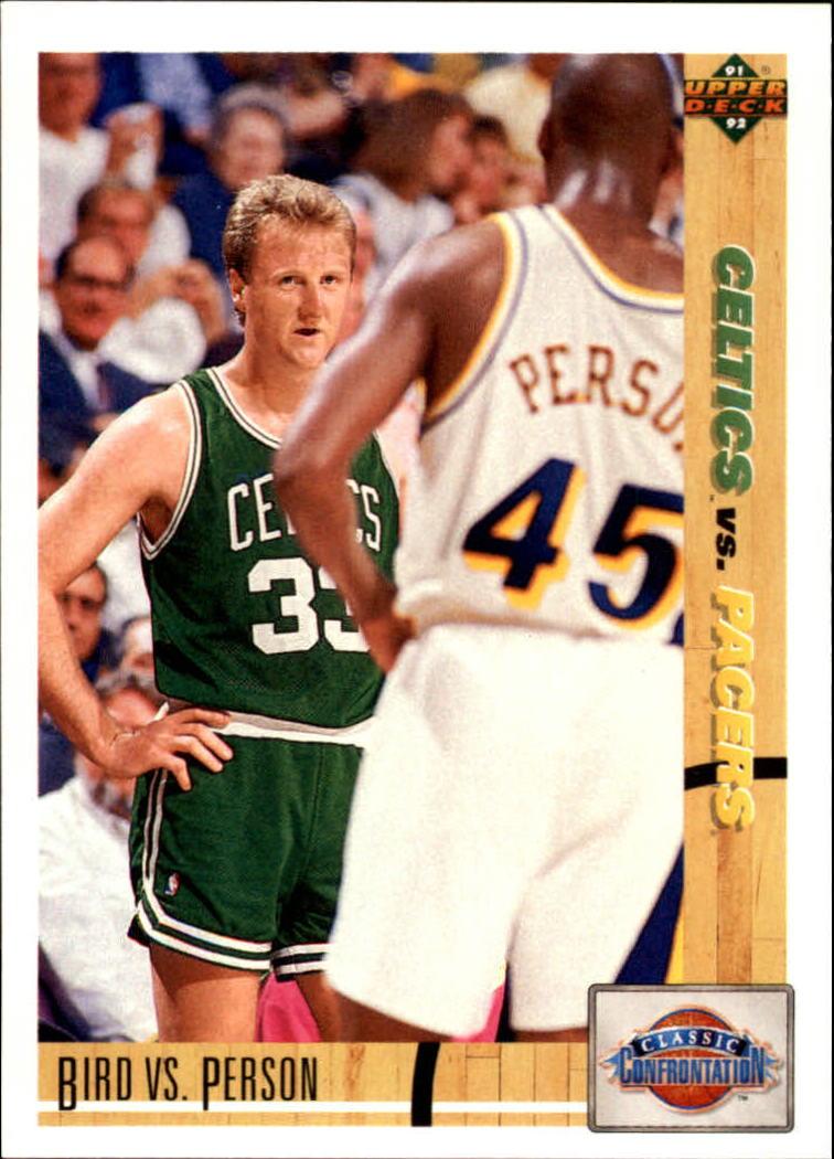 1991-92 Upper Deck #30 Larry Bird CC/Chuck Person