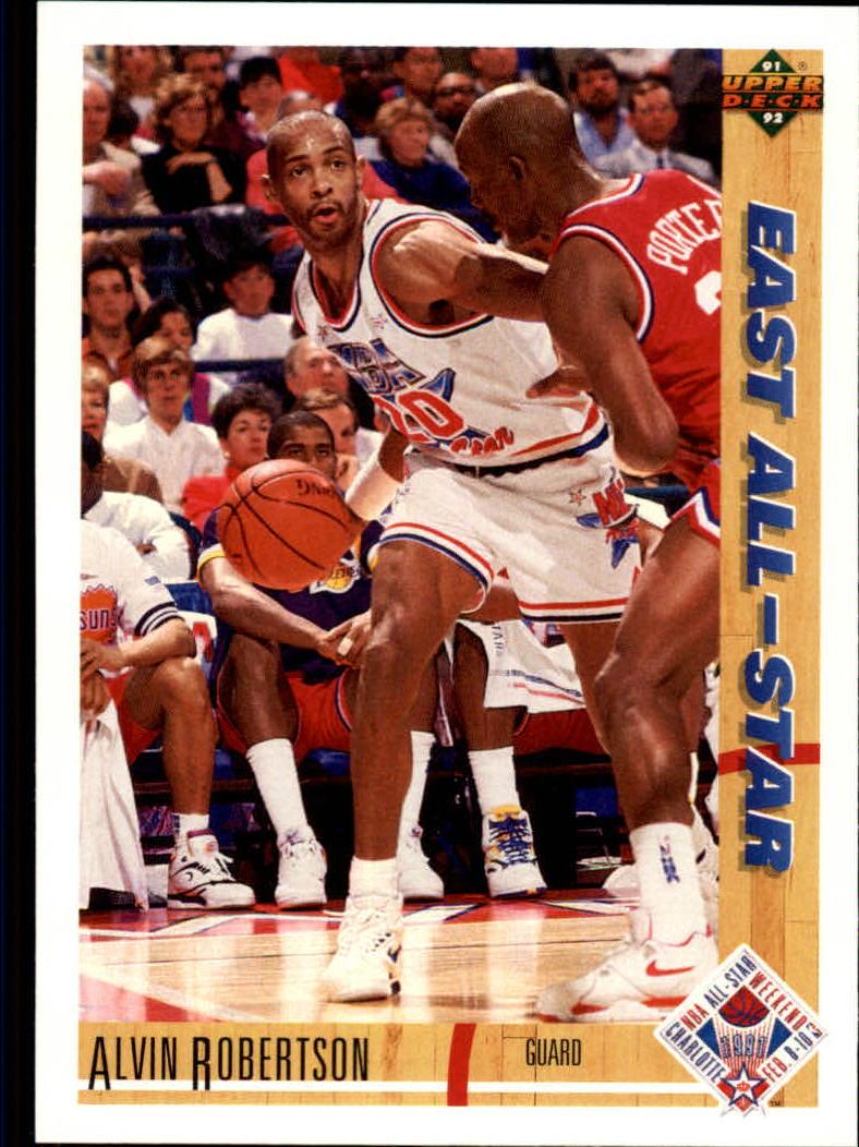 1991-92 Upper Deck #64 Alvin Robertson AS