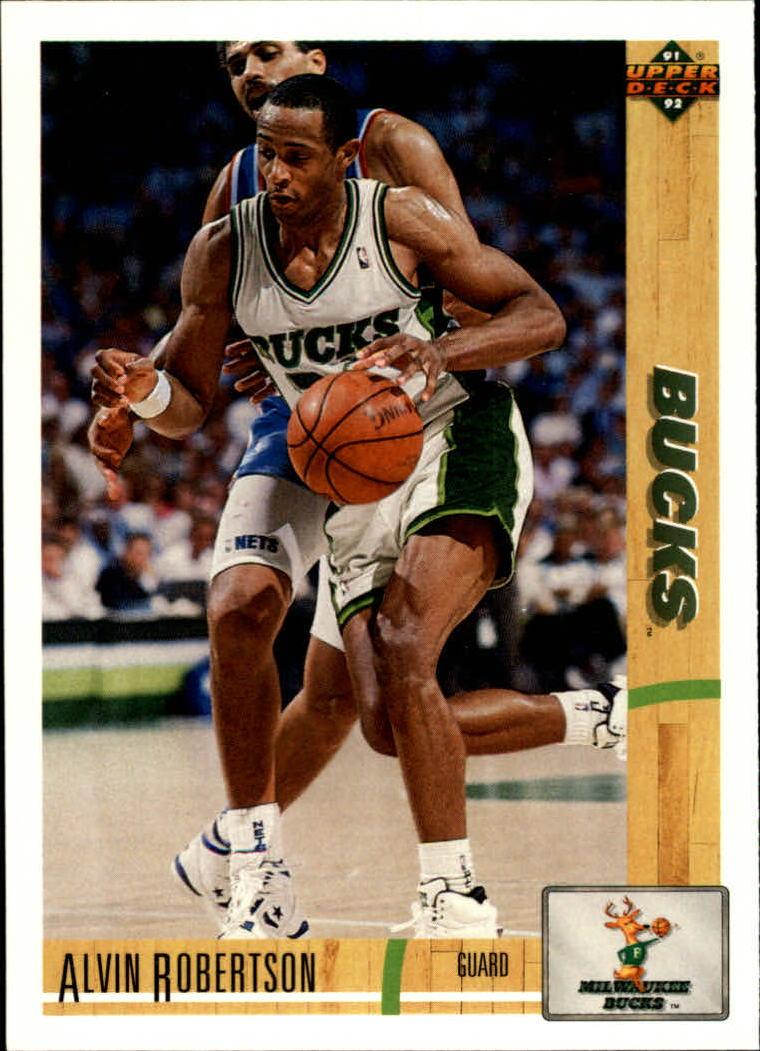 1991-92 Upper Deck #244 Alvin Robertson