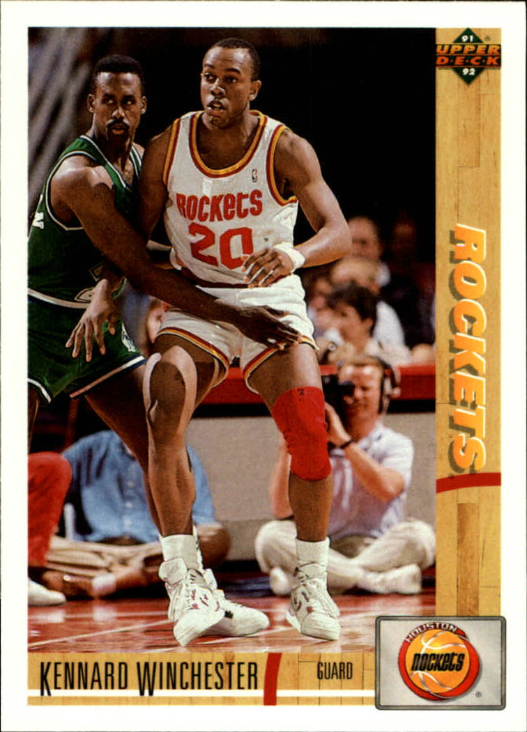 1991-92 Upper Deck #273 Kennard Winchester RC