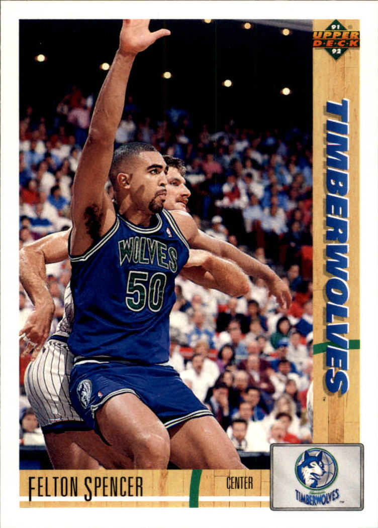 1991-92 Upper Deck #305 Felton Spencer