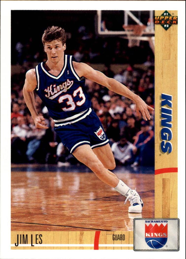1991-92 Upper Deck #360 Jim Les RC