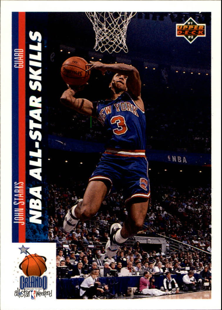 1991-92 Upper Deck #482 John Starks SD