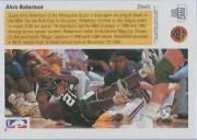 1991-92 Upper Deck Award Winner Holograms #AW2 Alvin Robertson/Steals Leader back image