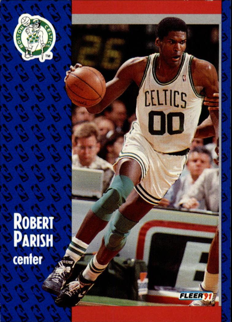 1991-92 Fleer #14 Robert Parish