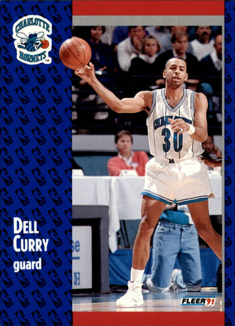 1991-92 Fleer #19 Dell Curry