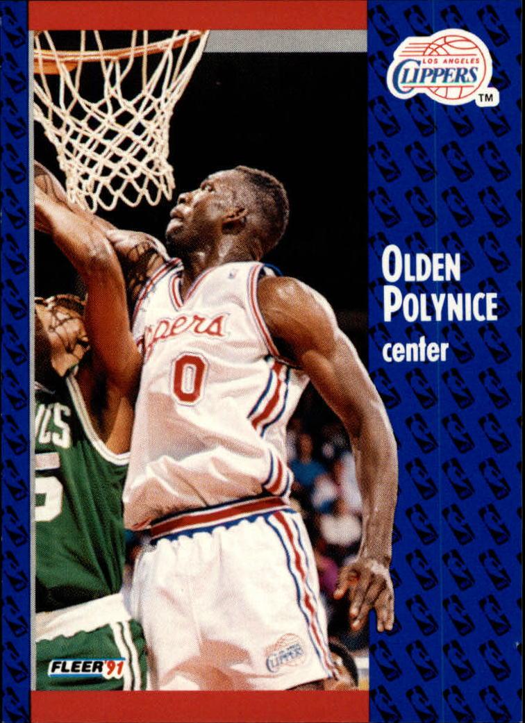 1991-92 Fleer #94 Olden Polynice