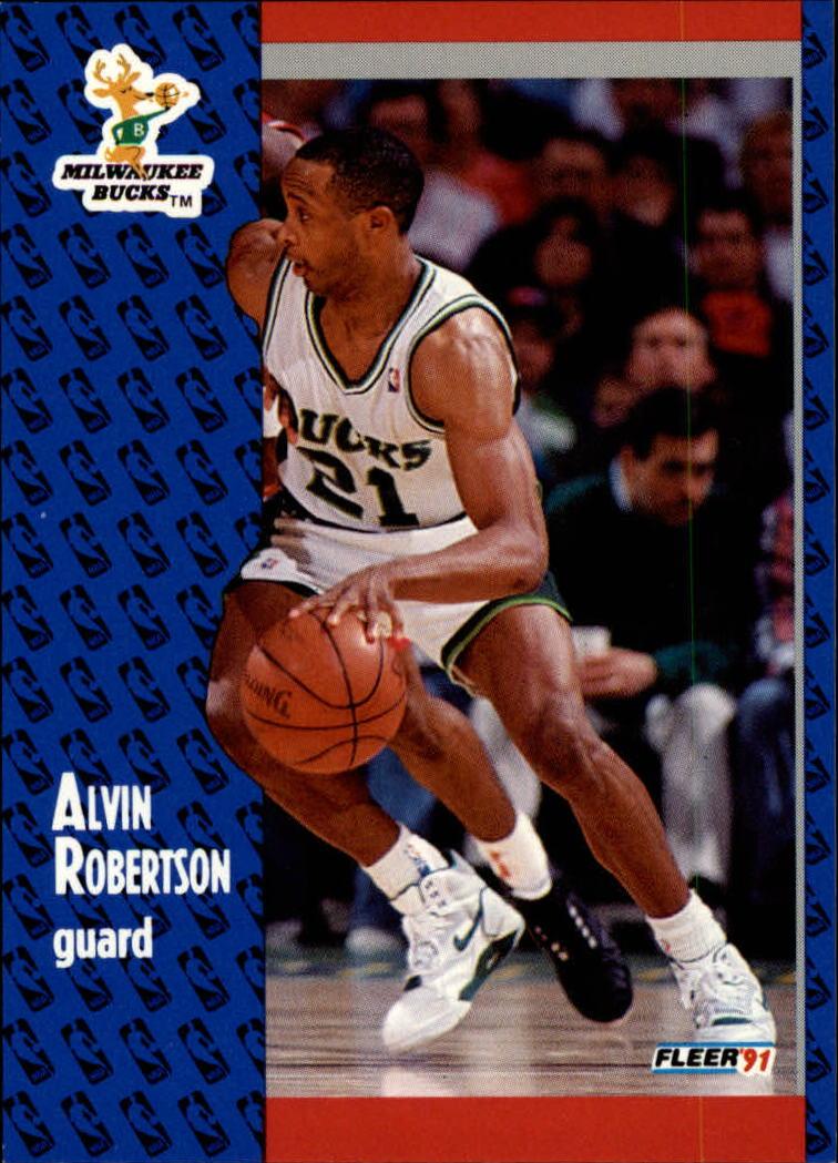 1991-92 Fleer #118 Alvin Robertson