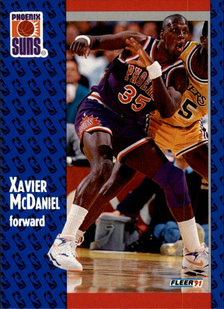 1991-92 Fleer #164 Xavier McDaniel