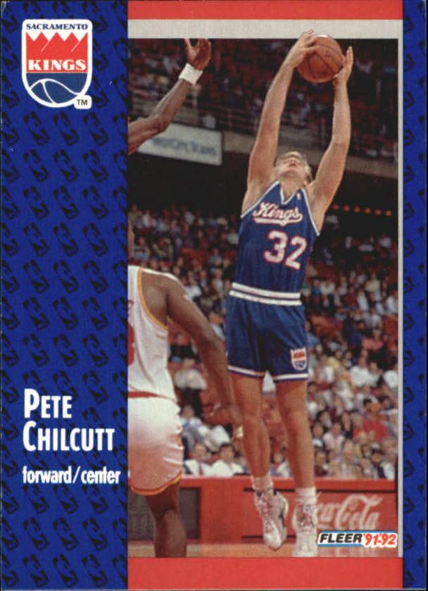 1991-92 Fleer #348 Pete Chilcutt RC