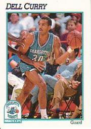 1991-92 Hoops #20 Dell Curry