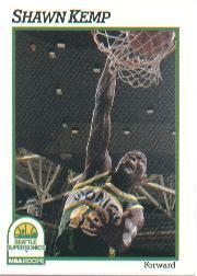 1991-92 Hoops #200 Shawn Kemp