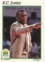 1991-92 Hoops #245 K.C. Jones CO