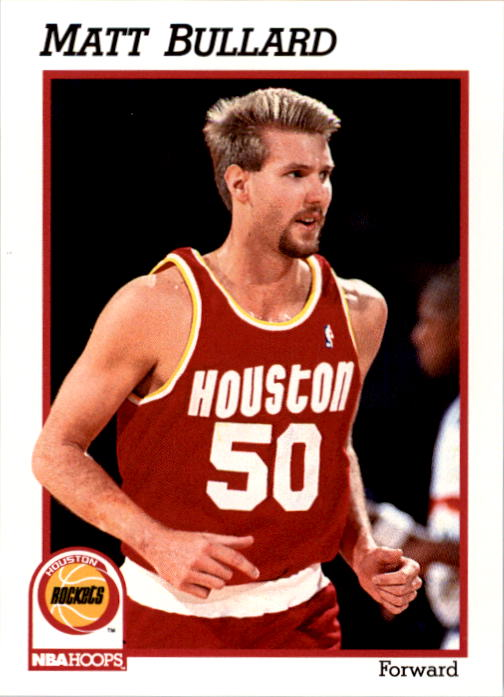 1991-92 Hoops #368 Matt Bullard RC