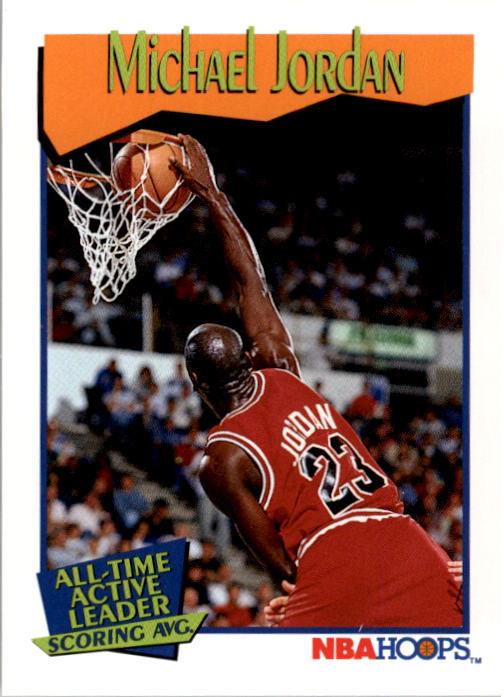 1991-92 Hoops #536 Michael Jordan AL