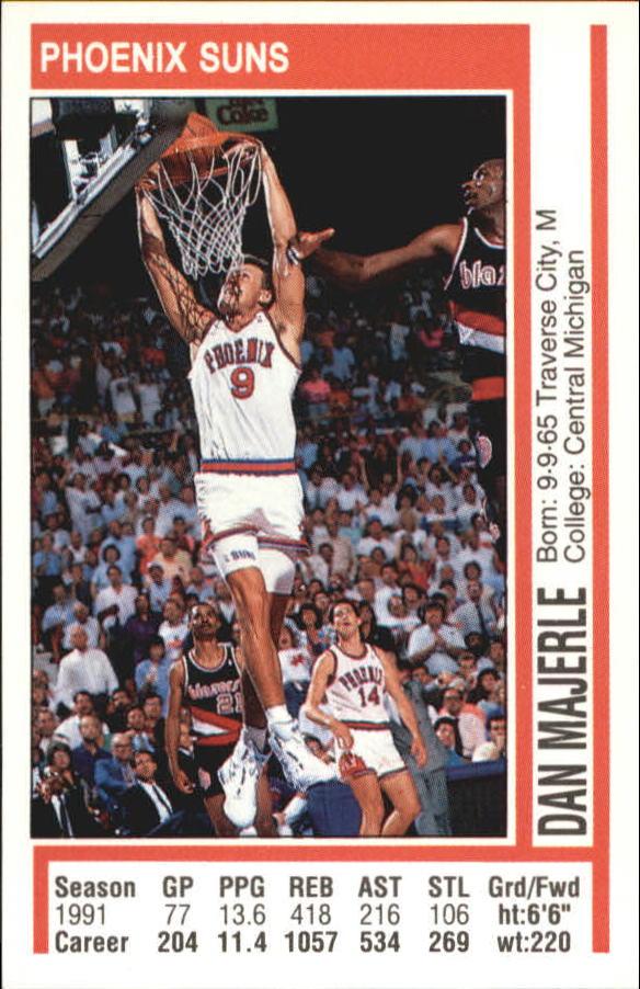 1991-92 Panini Stickers #23 Dan Majerle