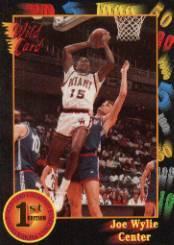 1991-92 Wild Card #10 Joe Wylie