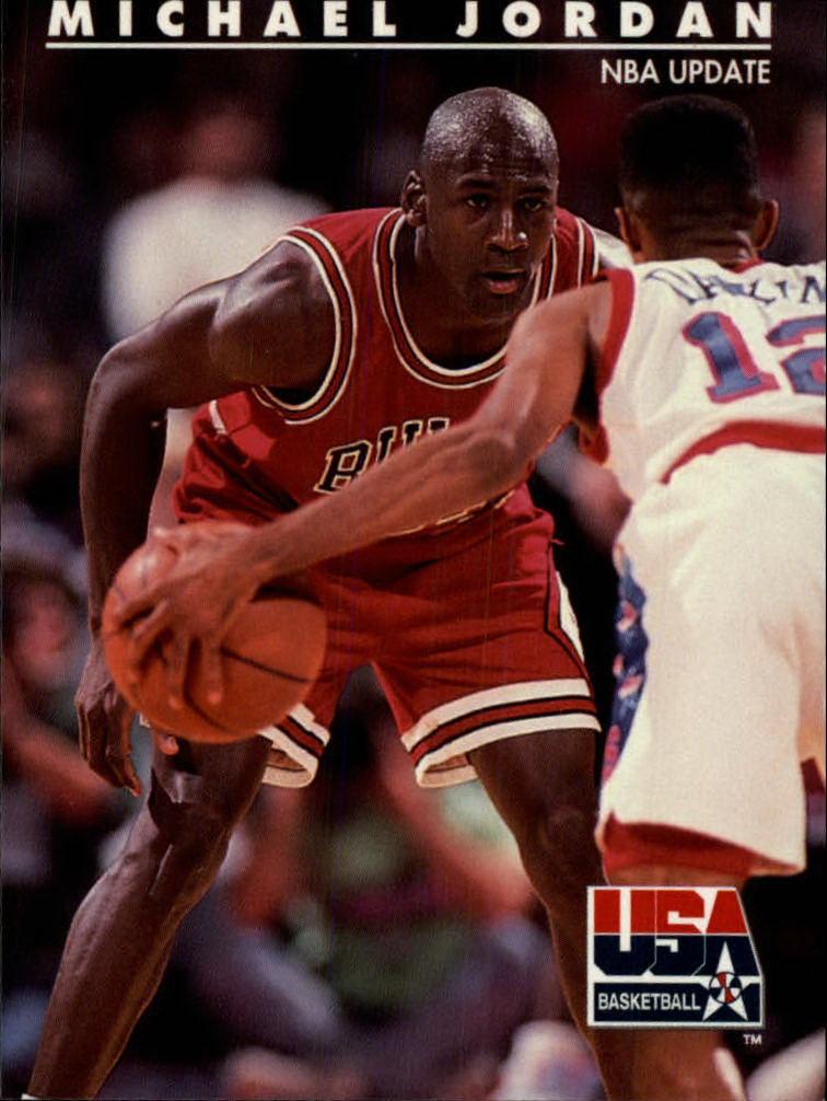 official photos 7dfbc 6e9f0 1992 SkyBox USA  37 Michael Jordan NBA Update ...