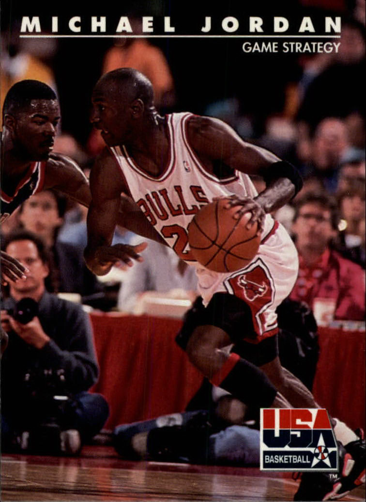 1992 SkyBox USA #39 Michael Jordan/Game Strategy
