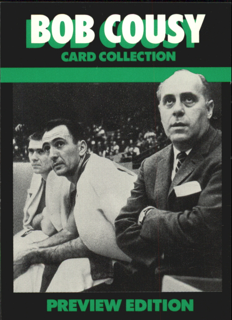 1992 Cousy Collection #16 Victory Watch/1961-1962/(With Red Auerbach and Tom Heinsohn)