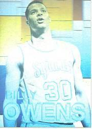 1992 Front Row Holograms #2 Billy Owens