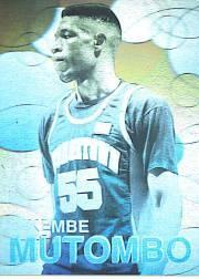 1992 Front Row Holograms #3 Dikembe Mutombo