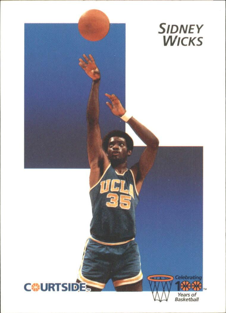 1992 Courtside Flashback #44 Sidney Wicks
