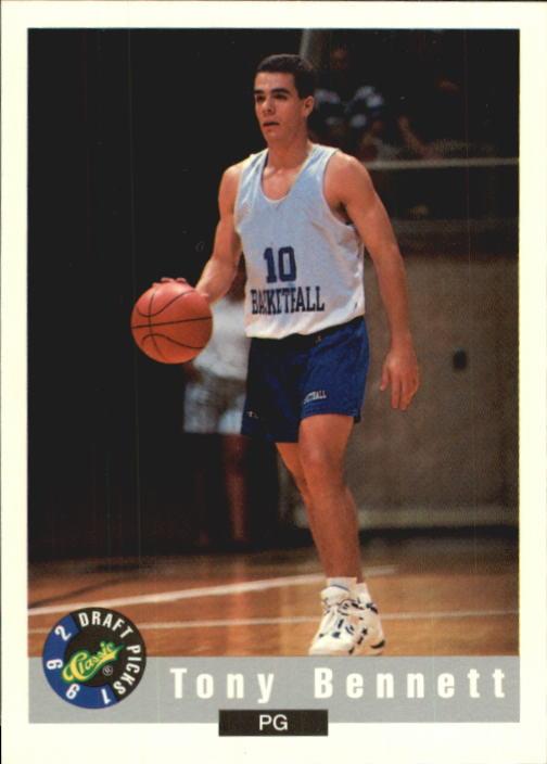 1992 Classic #4 Tony Bennett