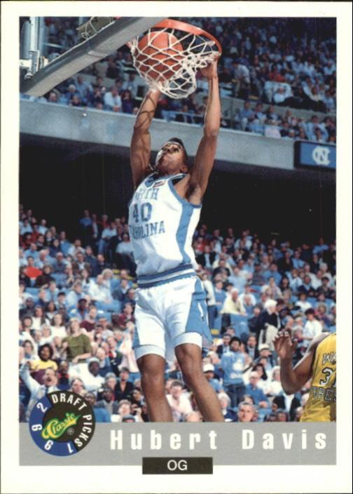 1992 Classic #22 Hubert Davis